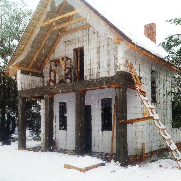 В Киеве строительство термодома